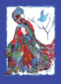 Holiday Card - Healing Cloak | Syracuse Cultural Workers