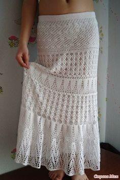 Free Crochet Patte rn for Stunning Maxi Skirt – Summer Maxi Skirt to Treasure | Crochet patterns | Bloglovin'