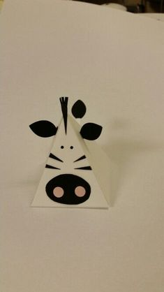 Pyramid/playful pals -Stampin Up thinlets dies. My zebra. By Dawn ...