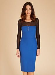 Audley Crepe Dress (but all black)