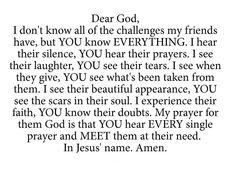 Gebed voor vrienden!