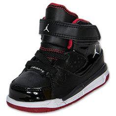 Boys' Toddler Jordan Flight SC 1 Basketball Shoes | FinishLine.com | Grey/White