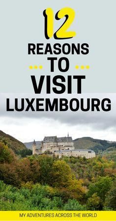 Why you should visit Luxembourg. The best things to do in Luxembourg + Luxembourg travel tips. Not many people know it, but this tiny country packs a lot to do. From trekking and waterfalls, to castles and culture, there is something fro everyone. | Luxembourg travel things to do | Luxembourg city | Luxembourg adventure travel | Luxembourg food #luxembourg - via @clautavani