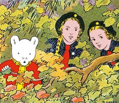 Rupert Bear with Pauline and Beryl the Girl Guides 1970s Childhood, Childhood Memories, Red Jumper, Schooldays, The Rival, Bear Pictures, English Artists, Girl Guides