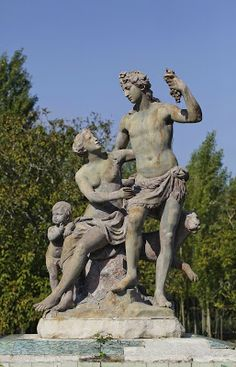 """Bacchus and Ariadne"" by John Cheere 1756"