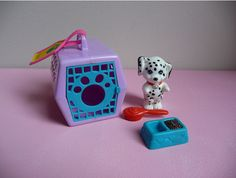 Littlest Pet Shop. Had this set with a Rottweiler, but also ended up with the Dalmatian somehow!