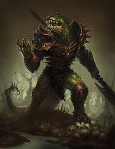 Classificação de relevância 1 _____________________________ Palavras-chave: fantasia medieval, homem lagarto, monstro da masmorra. _____________________________ www.deviantart.com/