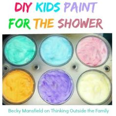 DIY paint for the shower