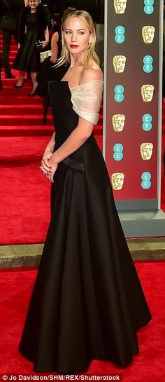 Stars hit the red carpet at the BAFTAs