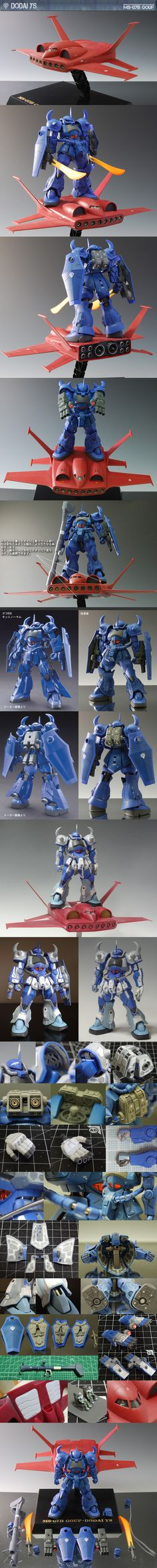 Amazing Remodeling Work! 1/144 GOUF R35 + DODAI YS. Work by STYLE-S Full Photoreview Hi Res Images http://www.gunjap.net/site/?p=203495