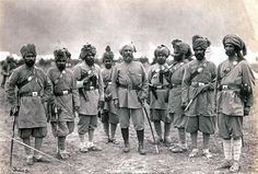 Officers of the Khyber Rifles