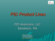 PID Product Philosophy