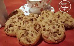 biscotti americani, biscotti con cioccolato, cookies, cookies americani, cookies con cioccolato, cookies ricetta, ricetta cookies americani, ricette biscotti