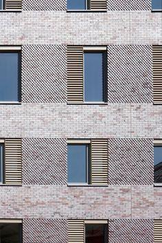 modern brick facade - Google Search