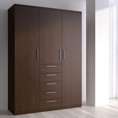 Fancy Modern Wardrobe Hpd432 - Free Standing Wardrobes - Al Habib Panel Doors