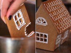 Make a gingerbread house from scratch this year? Sure. A girl's gotta have goals.