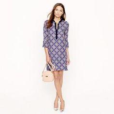 Rosie dress in medallion paisley - wear-to-work - Women's dresses - J.Crew