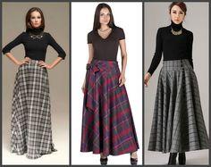 Макси-юбка: стильно, женственно, шикарно - Ярмарка Мастеров - ручная работа, handmade
