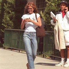jennifer aniston more like this gt; Jennifer Aniston 90s, Jennifer Aniston Pictures, Jennifer Aniston Friends, Jeanne Damas, Jane Birkin, Sophia Loren, Matilda, Rachel Green Outfits, 90s Inspired Outfits