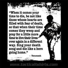 Tecumseh Quote