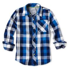 Arizona Long-Sleeve Woven Shirt - Boys 2t-6  found at @JCPenney