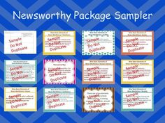 This Omega English product helps students understand the concept of newsworthiness. It contains a vibrant 11 page handout that can be printed or projected. In addition, it contains 1 graphic organizer for determining newsworthiness and analyzing the relevance of the news articles using the elements presented. Teachers instructions are included.