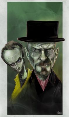 Breaking Bad illustrated by Eric Favela :: via  ericfavela.blogspot.ca