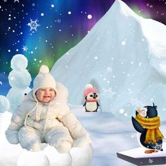 January at North Pole by Sarayane - Digishoptalk - The Hub of the Digital Scrapbooking Community