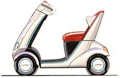 Honda mobility scooter concept