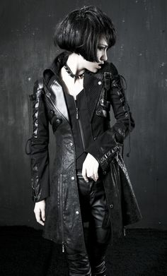 Y-349 red Gothic Punk Rave Studded Special Hot Punk Leather Jacket