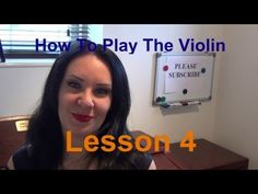 'OFFICIAL' How to Play the VIOLIN - Lesson 4 - How and where to bow - YouTube