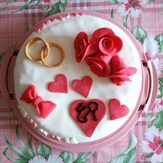 C & R 49 Anniversary Cake