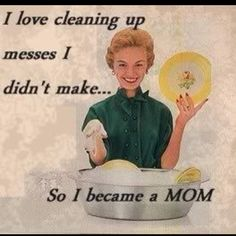Clean up your mess!