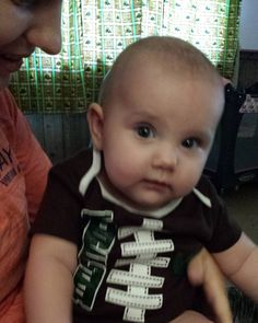 My little football. #gogreen #spartanswill #michiganstate #gameday