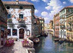 Картины по номерам 40х50 «Венеция, Канал Сан Джованни Латерано»