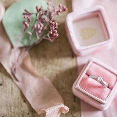 I'm in love with velvet ring boxes! #themrsbox Photo by Petra Veikkola
