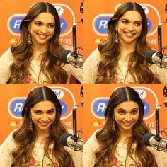 Deepika Padukone promoting Padmavati at Radio City India 2017