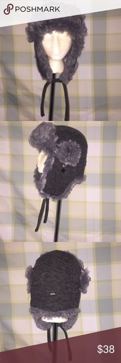 Ganka fur hat XL unisex Like new unisex Ganka hat fur gray color XL size. Ganka Rabbit Fur Hat. This stylish hat is made to keep your head cradled in cozy comfort. This hat features ear flaps that can be tied up together under your chin or on top of your head depending of the weather. Love it❣️ Ganka Accessories Hats