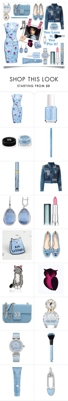 """""""You Love It, You Pin It!!! #pins"""" by shaheenk ❤ liked on Polyvore featuring WithChic, Essie, Givenchy, Too Faced Cosmetics, Estée Lauder, Diesel, Maybelline, Charlotte Olympia, Bling Jewelry and Erstwilder"""