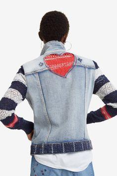 e49c9a14a Chaqueta denim y tricot - Sailor Lover