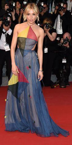 The Best of the 2015 Cannes Film Festival Red Carpet - Sienna Miller from InStyle.com
