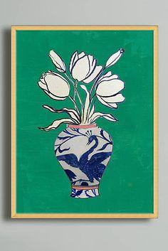 Flowers In A Vase Wall Art