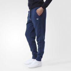Pantalón Originals Slim Cuffed Mujer - Blue adidas  fc4c0b83d45