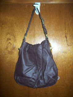' Coach Penelope Brown Leather Shoulder Bag F16535' is going up for auction at  5pm Fri, Apr 4 with a starting bid of $1.