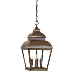Great Outdoors by Minka Mossoro 4 Light Outdoor Hanging Lantern 176