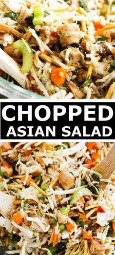 Easy Salad Recipes, Easy Salads, Side Dish Recipes, Easy Dinner Recipes, Asian Recipes, Healthy Recipes, Ethnic Recipes, Dinner Ideas, Healthy Salads