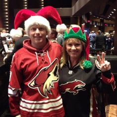 Great jerseys, great hats, great Howliday outfits!