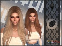 Breeze Hair for The Sims 4