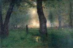 George Inness The Trout Brook-1891