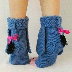 Eeyore knitted donkey socks from Winnie the Pooh! Eeyore knitted donkey socks from Winnie the Pooh! Knitting Projects, Crochet Projects, Knitting Patterns, Crochet Patterns, Crochet Crafts, Yarn Crafts, Knit Crochet, Sock Toys, Warm Socks